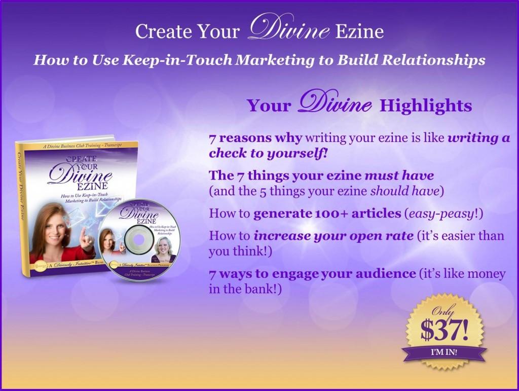DBC-CreateYourDivineEzine-Website-NoURL-Price