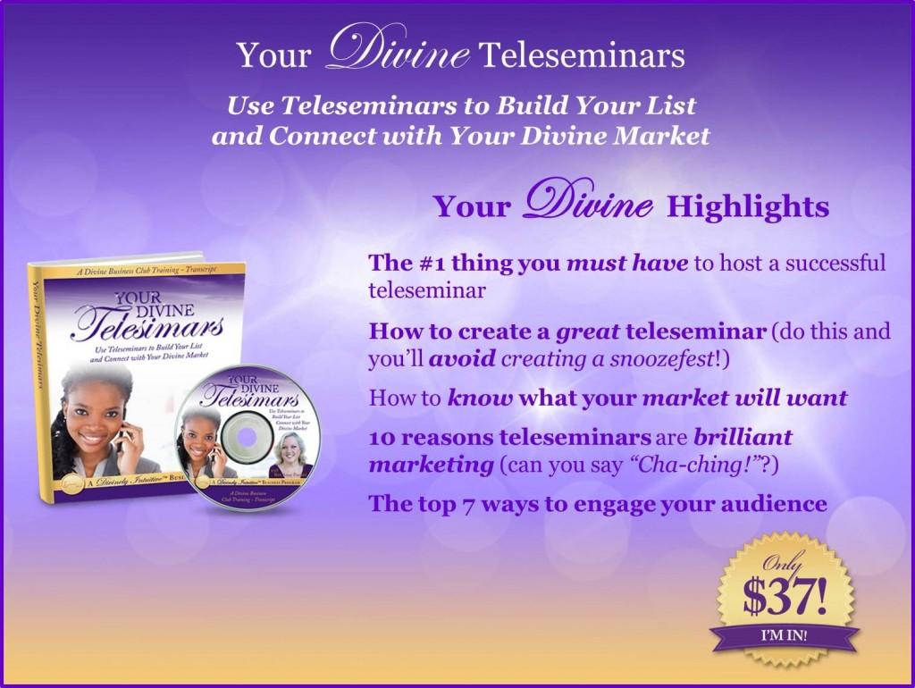 DBC-YourDivineTeleseminars-Website-NoURL-Price