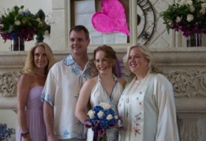 Officiating Mande White-Pearl's Wedding