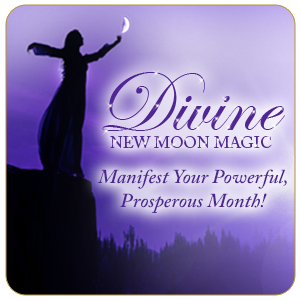 Divine New Moon Magic Tapping